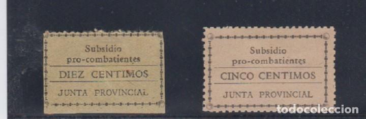 EDIFIL 16-16 * 5 Y 10 CTS SUBSIDIO PRO COMBATIENTES. (Sellos - España - Guerra Civil - De 1.936 a 1.939 - Nuevos)