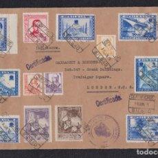 Sellos: 1938.- BILBAO A LONDRES. Lote 141799862