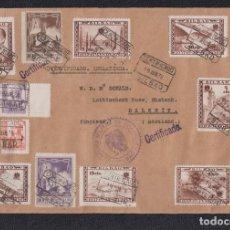 Sellos: 1938.- BILBAO A DALKEIT (INGLATERRA).. Lote 141800614