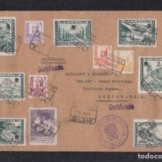 Sellos: 1938.- BILBAO A LONDRES (INGLATERRA).. Lote 141801442