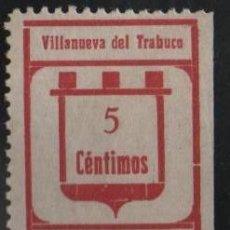 Sellos: VILLANUEVA DEL TRABUCO, VARIEDAD: CAPICUA+INTERPANEL, VER FOTO. Lote 141827502