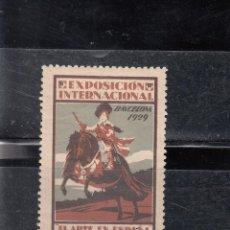 Sellos: EXPO INTERNACIONAL BARCELONA 1929. EL ARTE EN ESPAÑA. Lote 141901710