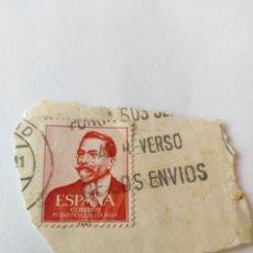 Sellos: SELLO 1 PESETA PRIMER CENTENARIO DE VÁZQUEZ DE MELLA. Lote 141921102