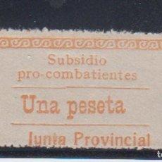 Sellos: GUIPUZCOA. EDIFIL 28 *. 1 PTA SUBSIDIO PRO COMBATIENTES.. Lote 142064948