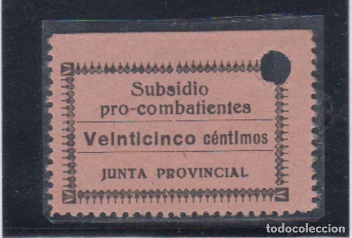 ALAVA. EDIFIL NO CATALOGADO. 25 CTS SUBSIDIO PRO COMBATIENTE (Sellos - España - Guerra Civil - De 1.936 a 1.939 - Nuevos)