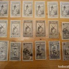 Sellos: SELLOS PROHUERFANOS TELEGRAFOS Y MUTUALIDAD CORREOS. Lote 142282922