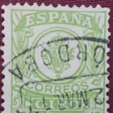 Sellos: SELLOS. ESPAÑA. 1911-20, GIRO POSTAL. 10 CTS. VERDE AMARILLO (Nº 2 EDIFIL).. Lote 142847206