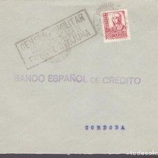 Sellos: F2-29- GUERRA CIVIL. CARTA FUENTE OVEJUNA (CÓRDOBA) 1939. LOCAL Y CENSURA DE FUENTE OVEJUNA . Lote 143517562