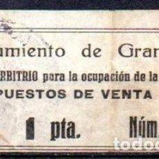 Sellos: GRANOLLERS (BARCELONA). MUN. 1929. Lote 143592746
