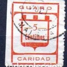 Sellos: GUARO (MÁLAGA). EDIFIL 2. Lote 143600018