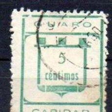 Sellos: GUARO (MÁLAGA). EDIFIL 5A -C-. Lote 143603746