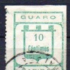 Sellos: GUARO (MÁLAGA). EDIFIL 7. Lote 143603794