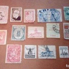 Sellos: LOTE DE VIÑETAS 1936 GUERRA CIVIL SALIDA 1 EURO. Lote 143622474