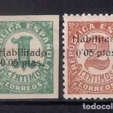 Sellos: 1936 - 1939 SPAIN LOCAL CIVIL WAR - ISLAS BALEARES - MH - 1/31. Lote 143747726
