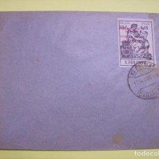 Sellos: SOBRE BURGOS GOBIERNO NACIONAL 1936. Lote 144244502