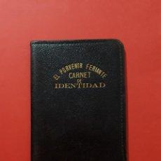 Sellos: EL PORVENIR FERIANTE RARO CARNET CON CUOTAS 1934. Lote 144589598