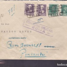 Sellos: F4-10- GUERRA CIVIL CERTIFICADO ECJA SEVILLA 1939 . LOCAL Y CENSURA . Lote 144670458