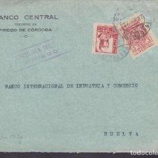 Sellos: F4-34- GUERRA CIVIL. FRONTAL PRIEGO (CÓRDOBA) 1937. LOCAL Y CENSURA . Lote 144791350