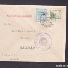 Sellos: F4-39- GUERRA CIVIL.CARTA JEREZ DE LA FRONTERA 1937. LOCAL Y CENSURA . Lote 144795370