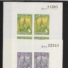 Sellos: VINEBRE (TARRAGONA). EDIFIL NUM. 75-80*. Lote 144889050