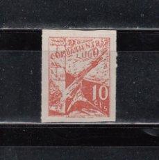 Selos: LUGO. PRO-COMBATIENTES. 10 CTS.. Lote 144998998