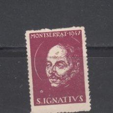 Sellos: S. IGNATIUS. MONTSERRAT-1947. Lote 145001166