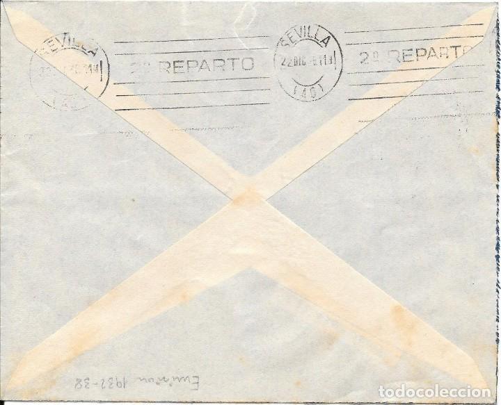 Sellos: GUERRA CIVIL. PAREJA ESPECIAL MOVIL 15 CTS. DE VILLAFRANCA DE PALACIOS A SEVILLA. 1936 - Foto 2 - 145177270