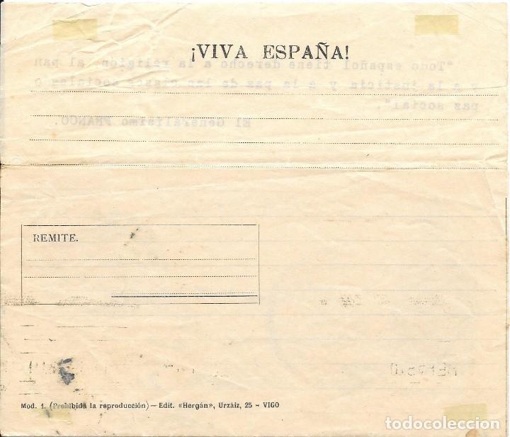 Sellos: GUERRA CIVIL. TIMBRE ESPECIAL MOVIL DE 5 CTS. DE MEDINA SIDONIA A SEVILLA. 1938 - Foto 2 - 145178294