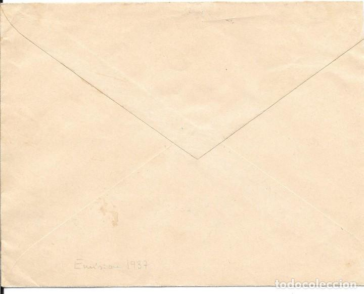 Sellos: GUERRA CIVIL. TIMBRE ESPECIAL MOVIL DE 20 CTS. DE BAENA A SEVILLA. 1938 - Foto 2 - 145180214