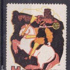 Sellos: SS4- VIÑETA HEIDELBERG 1913 * CON SEÑAL DE FIJASELLOS. 52 X 38 MM. Lote 145184050