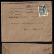 Sellos: GUERRA CIVIL. BANDO NACIONAL. MADRID (22.06.1939) CENSURA MILITAR AL DORSO.. Lote 145651990