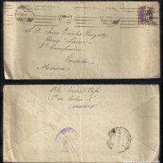 Sellos: GUERRA CIVIL. BANDO NACIONAL. MADRID (25.08.1939) CENSURA MILITAR.. Lote 145652490
