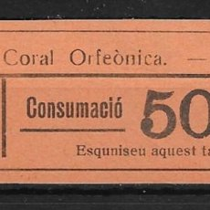 Sellos: SITGES (BARCELONA). EDIFIL NO CATALOGADO. 50 CTS.. Lote 145788150