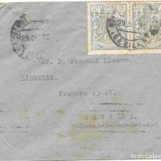 Sellos: GUERRA CIVIL. SEVILLA. MORON DE LA FRONTERA A SEVILLA. 1936. Lote 145900854