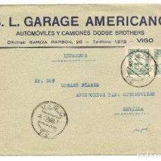 Sellos: HISTORIA POSTAL ESPAÑA GALICIA CARTA VIGO-SEVILLA 1938 NL761. Lote 146137562