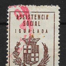 Sellos: IGUALADA (BARCELONA) EDIFIL NUM. 49 USADO.. Lote 146336386