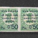 Sellos: 1936 ESPAÑA GUERRA CIVIL CANARIAS EDIFIL 1 - 50C EN 1C ** MNH - 18/2. Lote 146440462