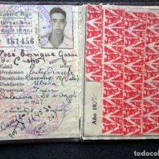Sellos: (JX-190135)DOS CARNETS DE SOCORRO ROJO INTERNACIONAL,COMITÉ DE UBEDA,MUCHAS VIÑETAS,GUERRA CIVIL. Lote 146973458