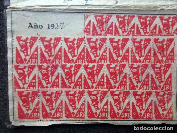 Sellos: (JX-190135)Dos carnets de Socorro Rojo Internacional,Comité de Ubeda,Muchas Viñetas,Guerra Civil - Foto 4 - 146973458