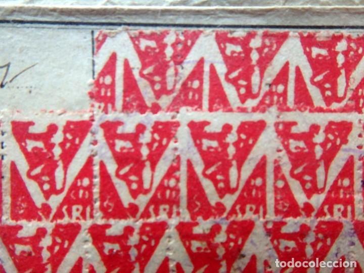 Sellos: (JX-190135)Dos carnets de Socorro Rojo Internacional,Comité de Ubeda,Muchas Viñetas,Guerra Civil - Foto 5 - 146973458