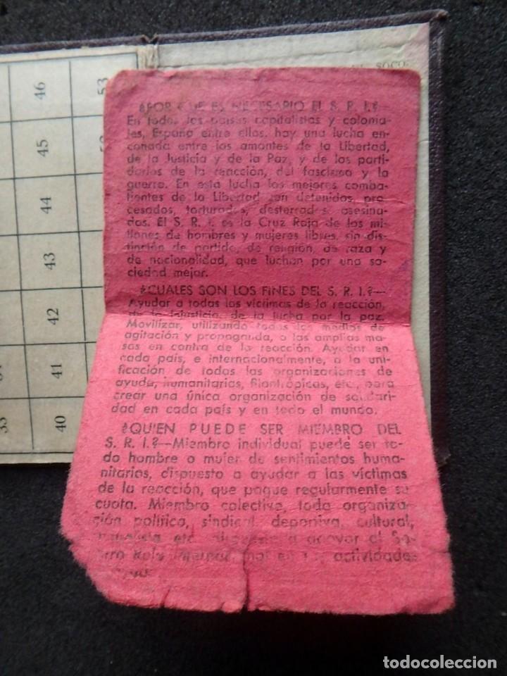 Sellos: (JX-190135)Dos carnets de Socorro Rojo Internacional,Comité de Ubeda,Muchas Viñetas,Guerra Civil - Foto 11 - 146973458