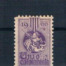 Sellos: ESPAÑA UNIÓN CATALANISTA 1900 VIOLETA MNH**. Lote 147095806