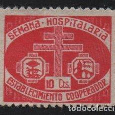 Sellos: BILBAO, 10 CTS,--SEMANA HOSPITALARIA,.. VER FOTO. Lote 147146762