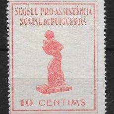 Francobolli: PUIGCERDA (GERONA). EDIFIL NUM. 4*. Lote 147190102