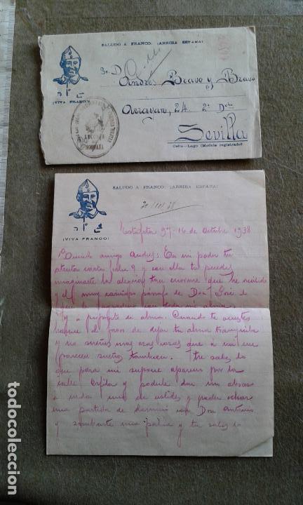 GUERRA CIVIL - SOBRE PATRIOTICO - FRANQUICIA GRUPO DIVISIONARIO SECCION DE MONTAÑA SANIDAD MILITAR (Sellos - España - Guerra Civil - De 1.936 a 1.939 - Cartas)
