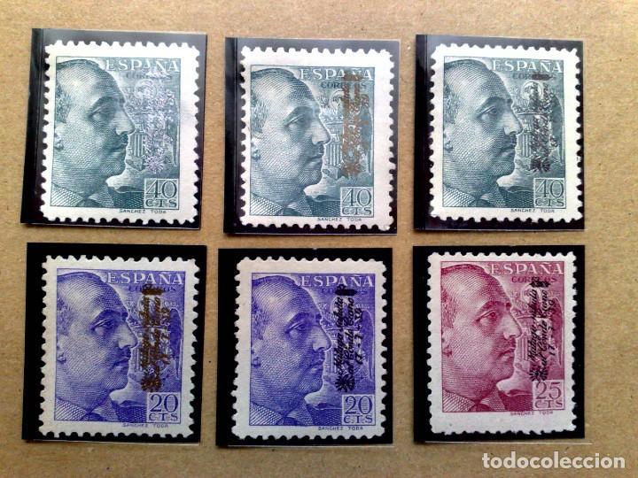 FRANCO1939,++(MNH) CON SOBRECARGA VARIOS,MALAGA SALUDA AL CONDE CIANO (VER DESCRIPCIÓN) (Sellos - España - Guerra Civil - Locales - Nuevos)