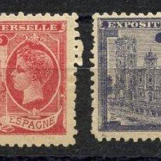 Sellos: VIÑETA, EXPOSITION UNIVERSELLE ESPAGNE, 1900, PARIS. Lote 147656274