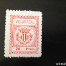 Sellos: VILLARREAL 20 PESETAS. Lote 147701614
