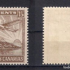 Sellos: ESPAÑA CANARIAS 15 CENTS. ** - 4/6. Lote 147749998