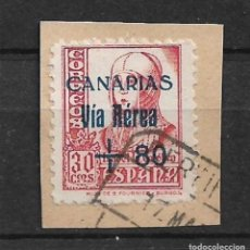 Sellos: 1936 - 1939 SPAIN LOCAL CIVIL WAR - CANARIAS - 4/5. Lote 147755094